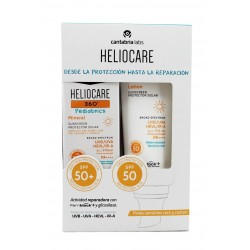 Heliocare 360 Pädiatrische sMINERAL Pack SPF50 50ml + Lotion SPF50 200ml