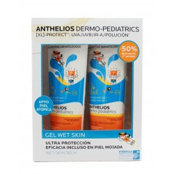 De Roche Posay Anthelios Pediatrics Duplo Gel Wet Skin SPF50+ 2x250ml