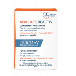 Ducray Anacaps Réactive 30 Capsules
