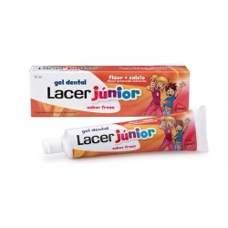 Lacer Gel Lacer Junior Erdbeere 75 ml