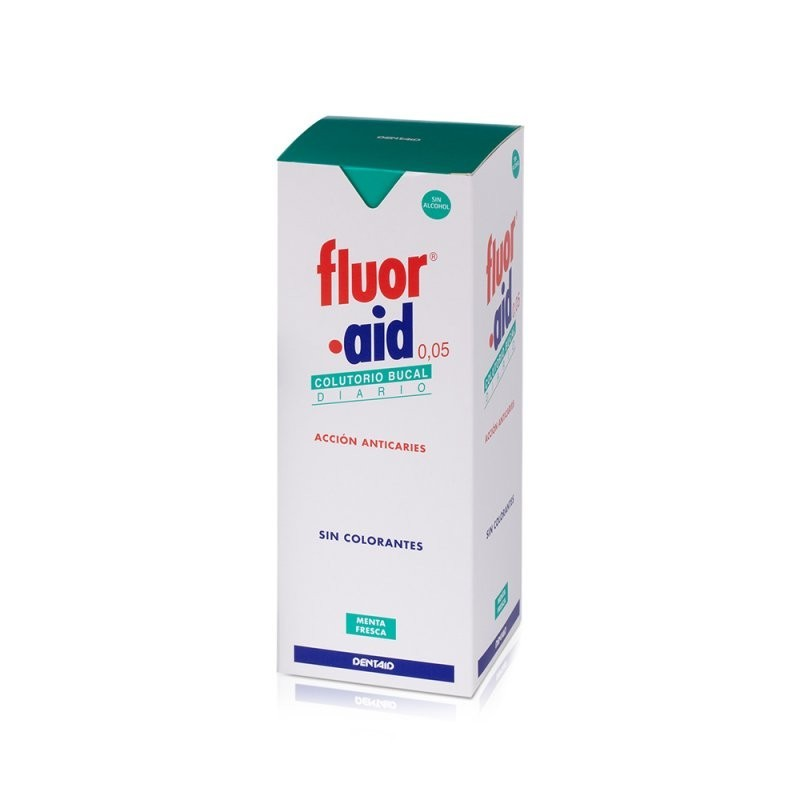 FLUOR AID DIARIO COLUTORIO 500 ML