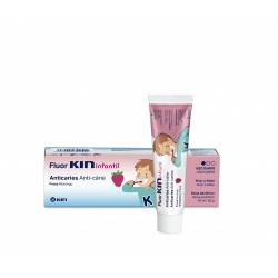 Fluor Kin Infantil Pasta Dentifrica 50 ml