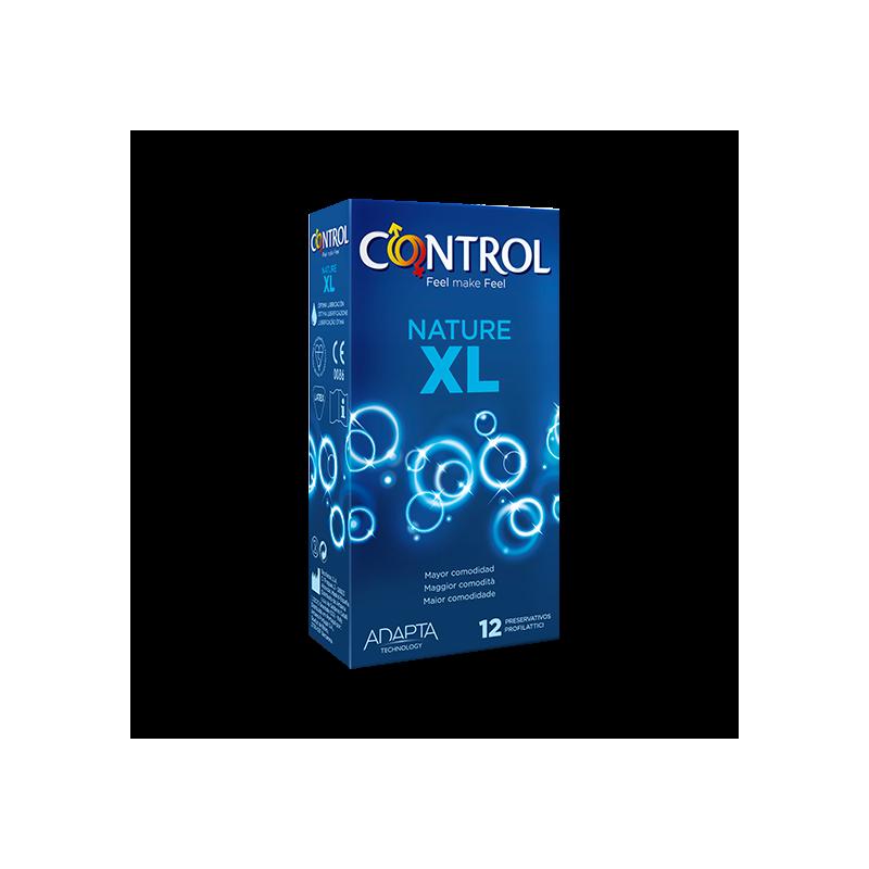 PRESERVATIVOS CONTROL NATURE XL 12 U