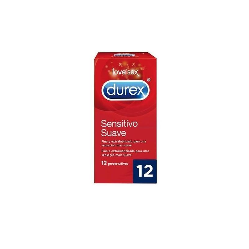 DUREX SENSITIVO COMFORT EASY ON 12
