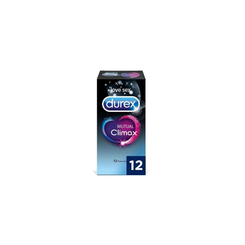 Durex preservativos Mutual Climax 12 unid.