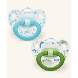 Nuk Happy Days Silicone Pacifier 2 u T-2