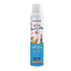 Frezyderm bambini Suncare SPF50 Bagnato Pelle Spray 200ml