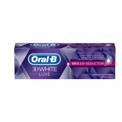 Oral B 3D White Luxe Gloss Seductor Pâtes 75 ml