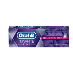 Oral B 3D White Luxe Gloss Seductor Pasta 75 ml