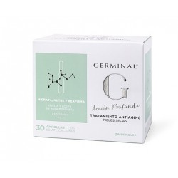 Germinal Profound Action Anti-Aging Treatment Dry Skin 30 Ampoules
