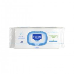 Mustela Cleansing Wipes 70 Units