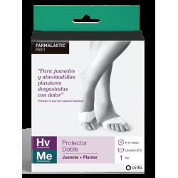 Farmalastic Doppio Juanete Protector - Piantare medie dimensioni