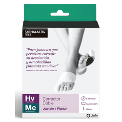 Farmalastic Double Juanetes Corrector et Plant Medium Izq Foot