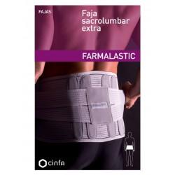 Farmalastic Faja Sacrolumbar Extra Gris 118 cm t4