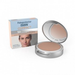 Isdin Fotoprotector Extrem Uva F50+ Maquillaje Compacto Arena 10 g