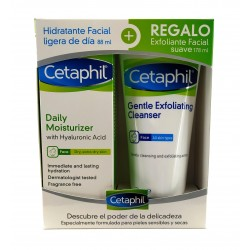 CETAPHIL DAILY MOISTURIZER 88ML + REGALO EXFOLIANTE FACIAL SUAVE 178ML