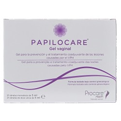 Papilocare Gel Vaginal Pack 21 Canulas