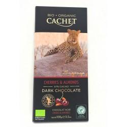 BioArtesa Chocolate Cereza y Almendra BIO 57% Cacao