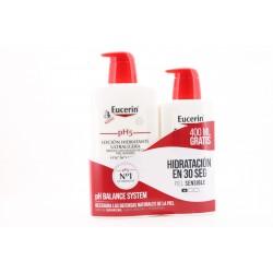 EUCERIN PH5 Loción Hidratante Ultraligera 1000ML + 400 ML Gratis