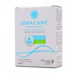 Idracare Gel Hidratante Vaginal 8 Cánulas Monodosis 5ML