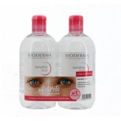 Sensibio H2O  Pack Solución micelar específica piel sensible  500 ml +250 ml