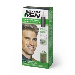 CHAMPU JUST FOR MEN CASTAÑO CLARO