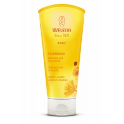 Weleda Shampoo & Calendula Shower Gel 200 ml