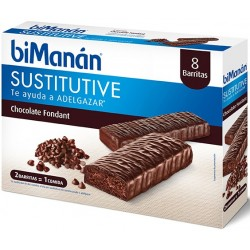 Bimanan Barre Chocolat Noir Fondant Chocolat Fondu 8 Uni