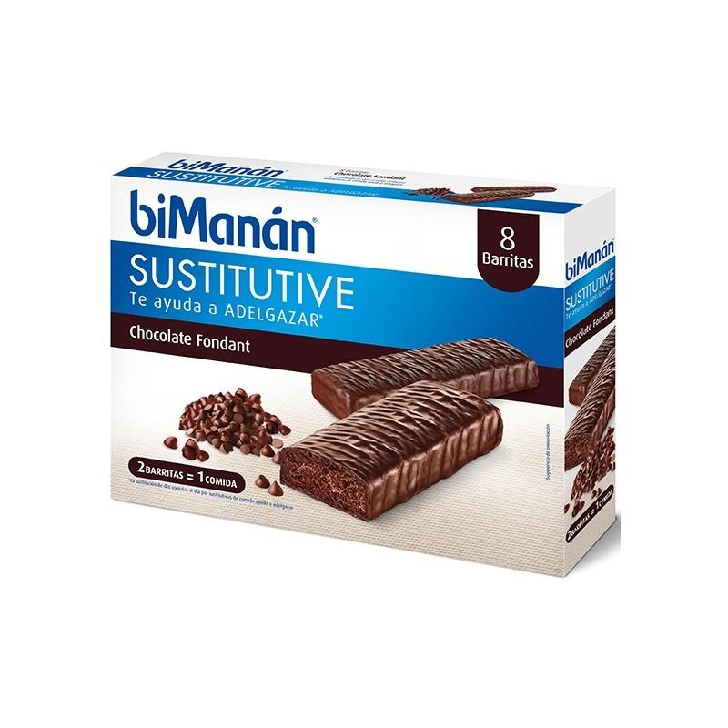 BIMANAN BARRITAS CHOCOLATE FONDANT (8 UDS)