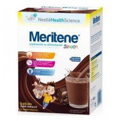 Nestle Meritene junior sabor chocolate 15 sobres sin gluten