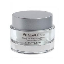 crema per la pelle secca di Martiderm Platino GF Vital-Age 50 ml