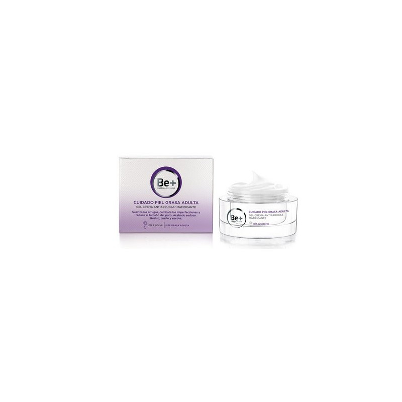 Be+ Crema antiarrugas matificante pieles grasas