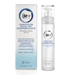 Be+ 24H Leichte Desensibilisierende Gesichtsemulsion Spf 20 50 ml