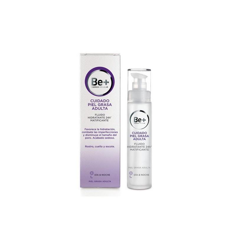 Be+ 24h Fluido facial hidratante matificante pieles grasas