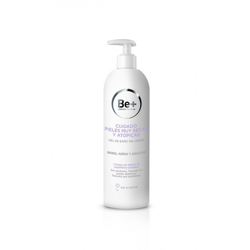 Be+ Gel de baño sin jabon 400 ml