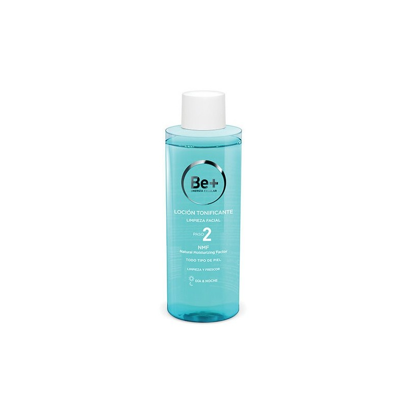 Be+ Locion tonificante limpiadora facial 200 ml
