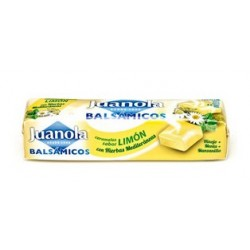Juanola 9 caramelos balsamicoss abor limon