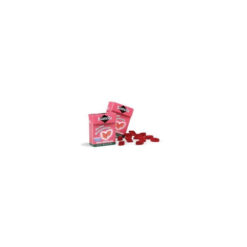 Juanola perlas balsamicas fresa mentolada 25 gr.