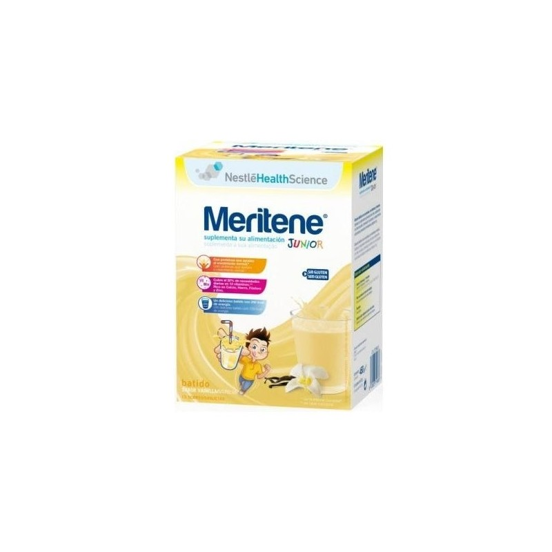 MERITENE JUNIOR 30 G 15 SOBRE CHOCOLATE