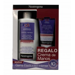 Neutrogena Pack Visibly Renew Intense Elasticity Oral Lotion 400 ml + Hand Cream Spf 20 75 ml