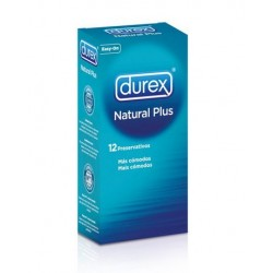 Durex Natural Preservation Plus 12 Unità