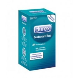 Durex preservativi Easy Natural Plus 24 Unità