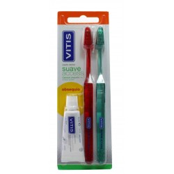 Vitis Soft Brush Duplo Access + Free Paste 15 ml