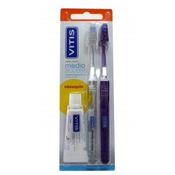 Vitis Duplo Medium Access Brush + Free Paste 15 ml