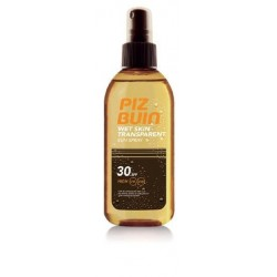 Piz Buin Nasshaut Spray Solar Body Transparent FPS30 150 ml