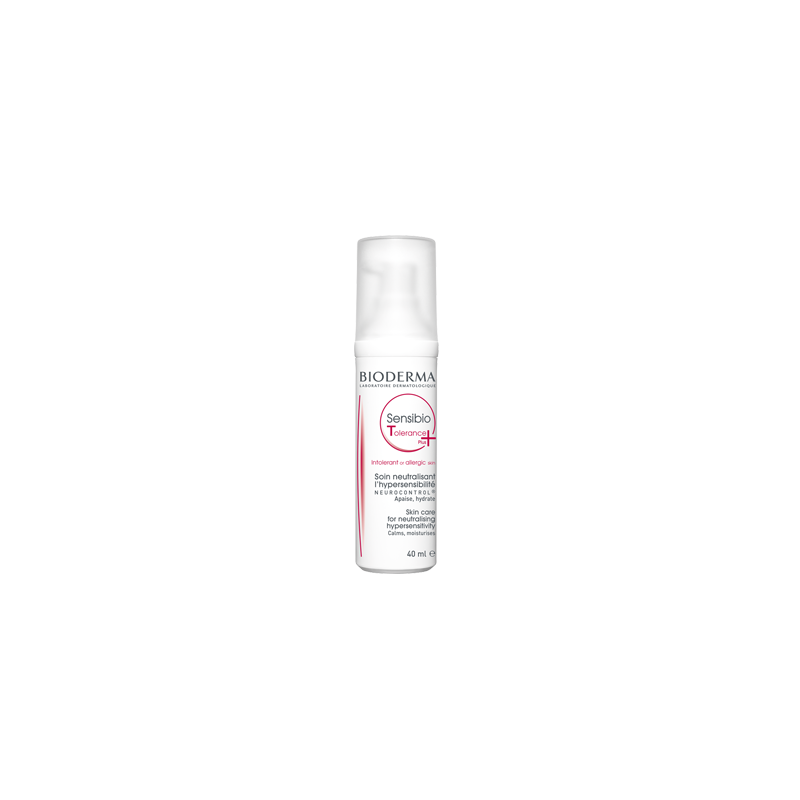 Bioderma Sensibio Tolerance+ Tratamiento Hipersensibilidad Cutánea Airless 40 ml