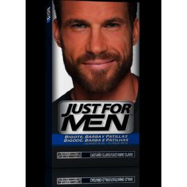 Just For Men baffi e barba marrone chiaro 30 ml