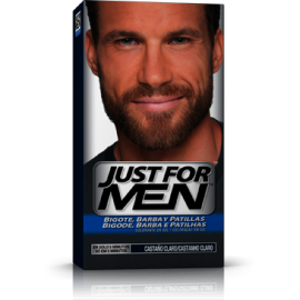 Just For Men Schnurrbart und hellbrauner Bart 30 ml