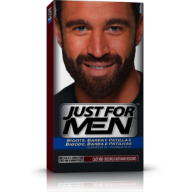Just For Men Mustache and Dark Brown Beard 30 ml