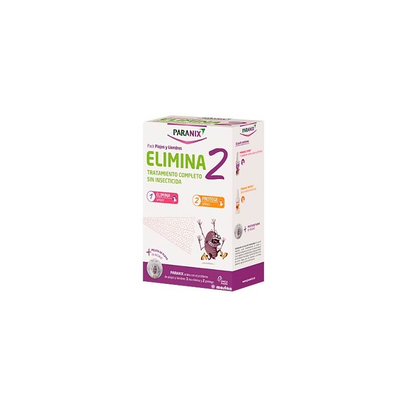 Paranix elimina 2 Spray elimina  100 ml + spray protege 100 ml.